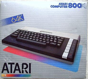 Atari 800xl box